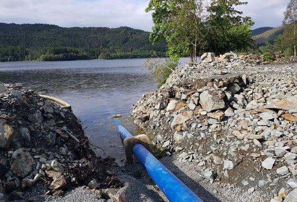 Trygg vannleveransen med sjøledning fra Hallingplast