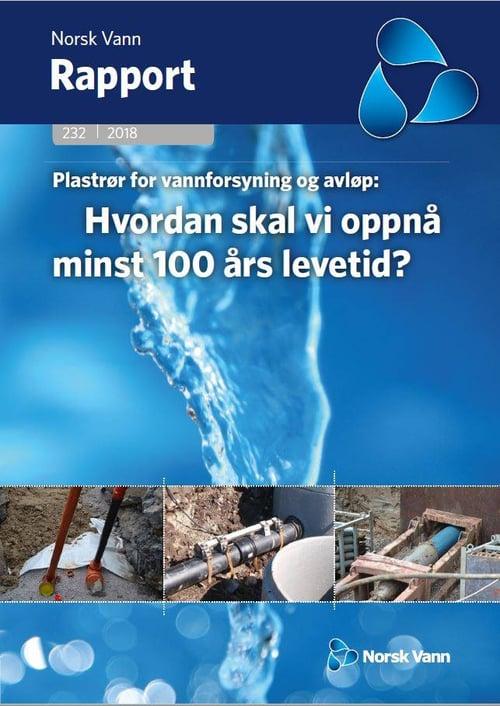 Norsk Vann rapport om levetid på rør