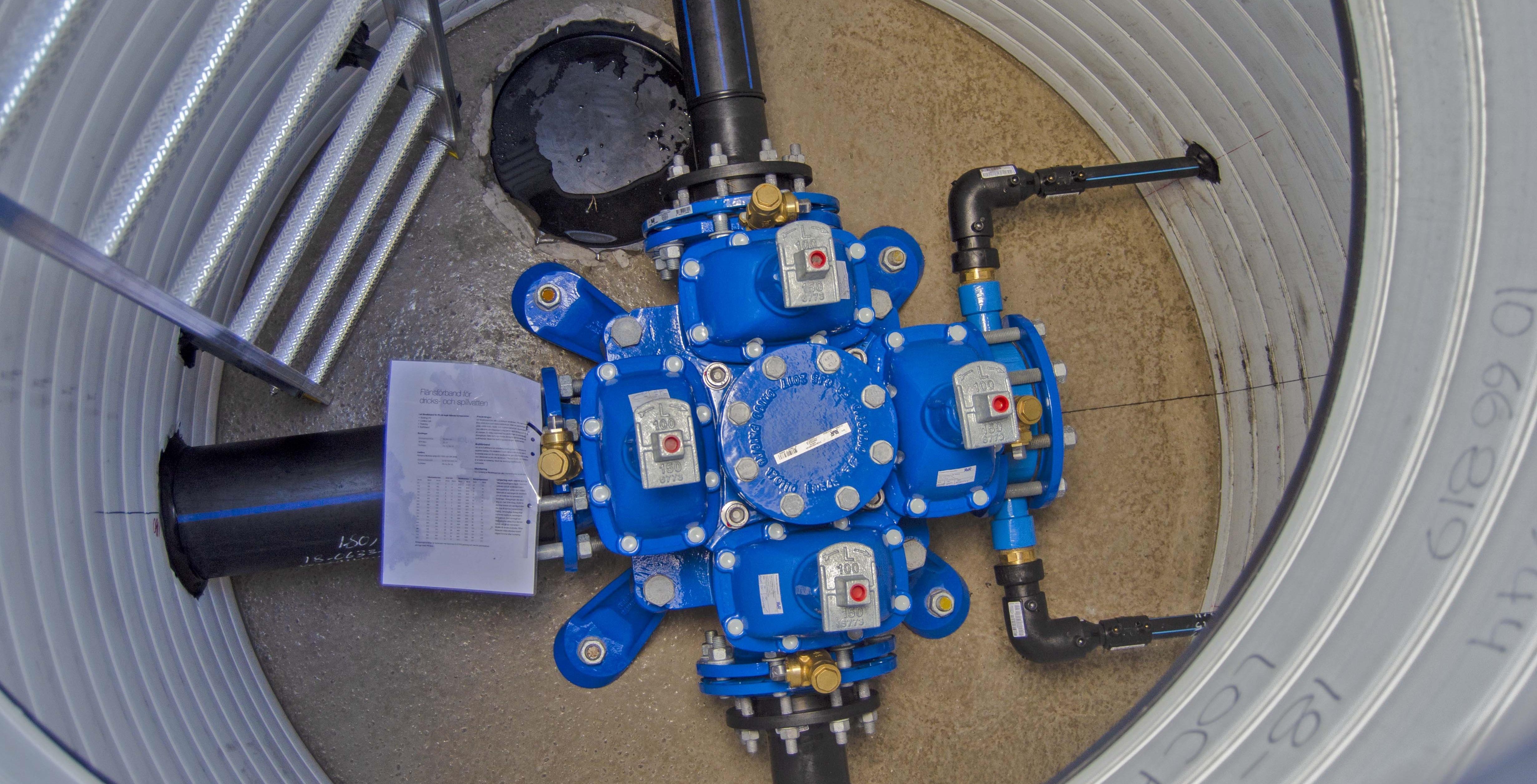 Tette kummer forhindrer inntrengning av grunnvann eller sjøvann. På den måten blir ikke armatur påvirket med tanke på korrosjon.