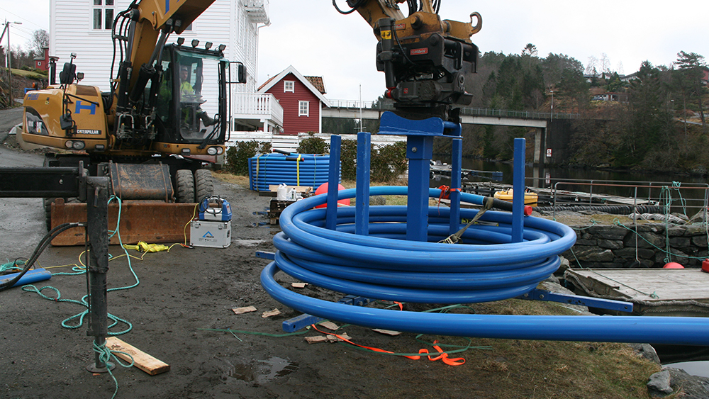 Enkel og rask installasjon av SESU-pipe