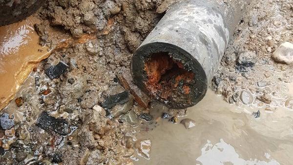Vannrør og drikkevannsområder