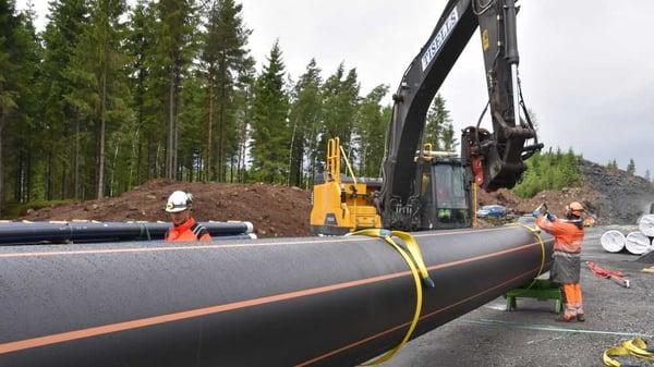 Store rørdimensjoner i Borås leveres fra Hallingplast