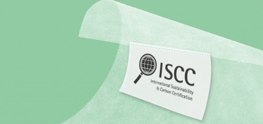 ISCC - internasjonalt sertifikat