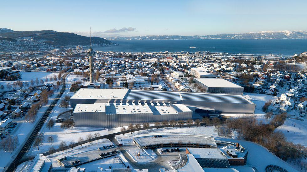 Prestisjeprosjektet Ocean Space Centre vil ruve godt i landskapet på Tyholt i Trondheim. Dersom Stortinget sier ja til finansieringen vil det bli byggestart i 2022.