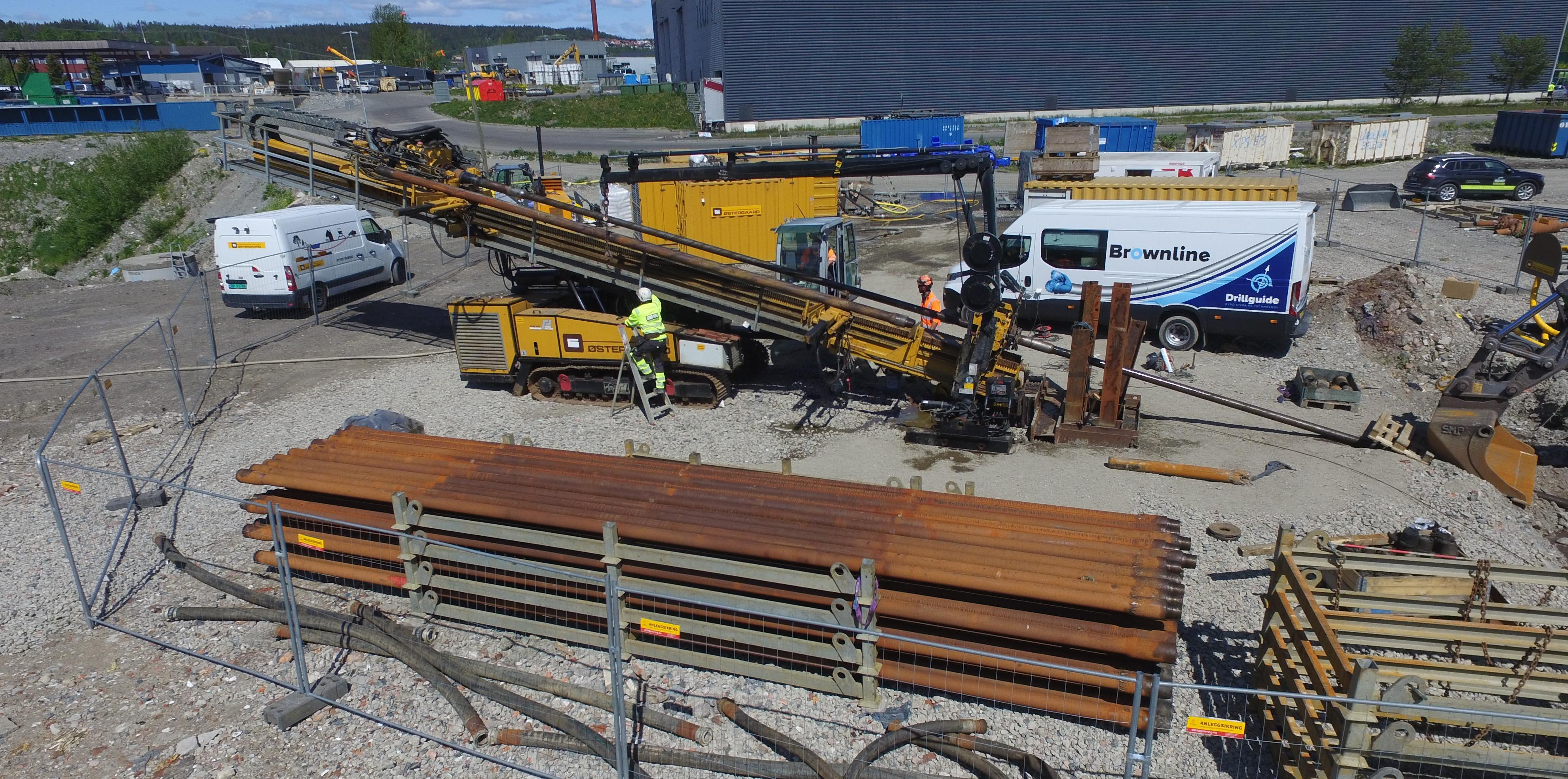Boreriggen fra danske Østergaard har en trekkraft på 150 tonn og en rotasjonskraft på 50.000 newtonmeter.