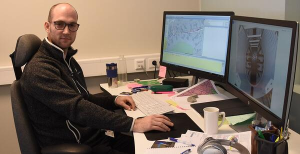 VA-ingeniør Einar Hoset mener rør i rør er et godt alternativ