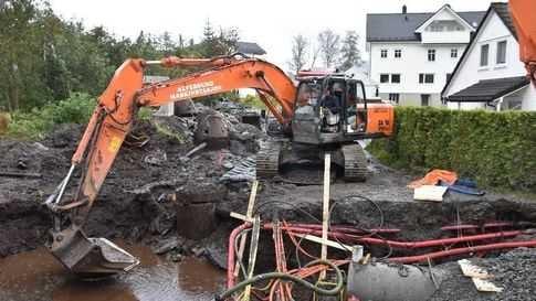 Sikre at boliger ikke blir oversvømmet av vann ved kraftige regnbyger
