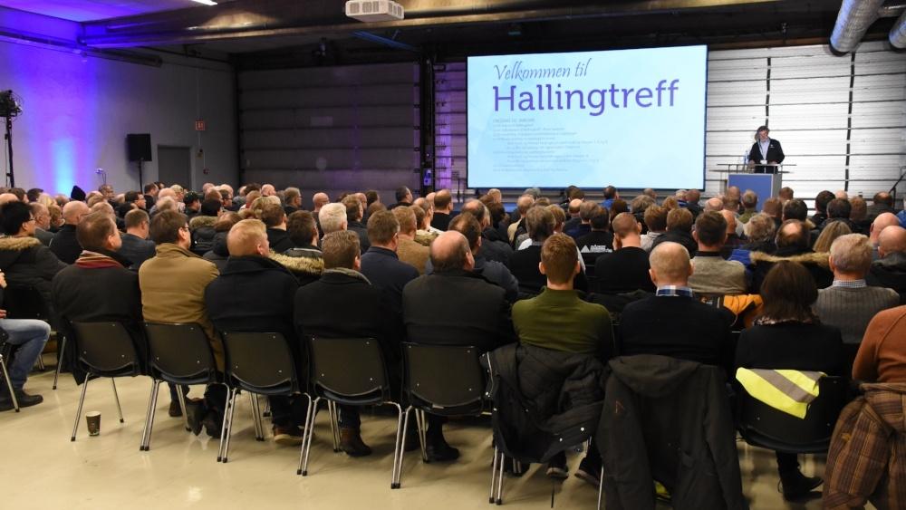 Fabrikkbesøk og faglig input på Hallingtreff
