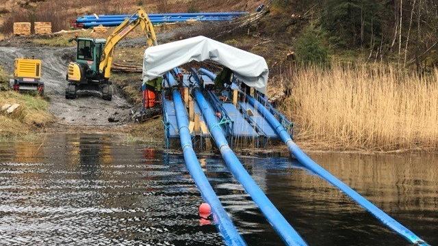 SESU-pipe - førstevalget for sjøforlagte ledninger