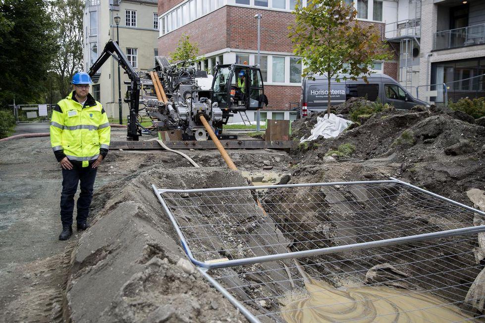Diffusjonstette rør for økt sikkerhet i Trondheim